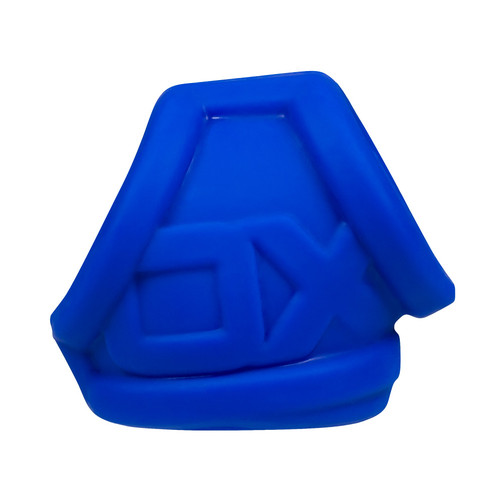 Buy the OxSling Silicone Plus Cockring & Ball-Stretching Power Sling Cobalt Ice -OxBalls