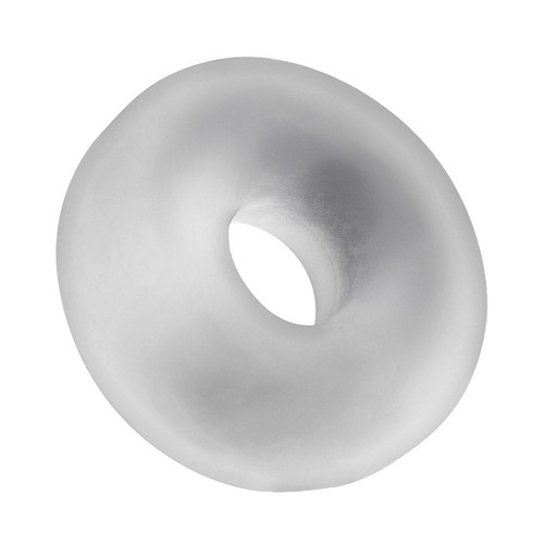 Buy the Big Ox Super Mega Stretch Silicone Plus C-Ring Cool Ice Clear -OxBalls