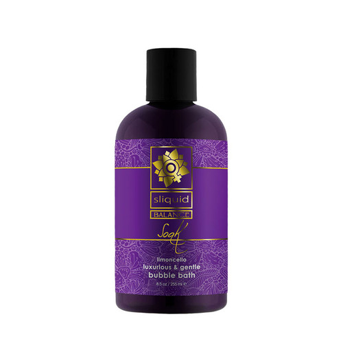 Buy the Balance Soak Limoncello Foaming Bubble Bath 8.5 oz - Sliquid Lubricants