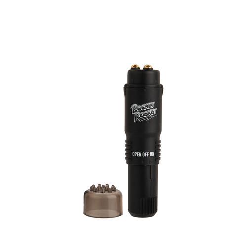 Buy The Original Pocket Rocket Limited Edition Mini Massager Black - Doc Johnson