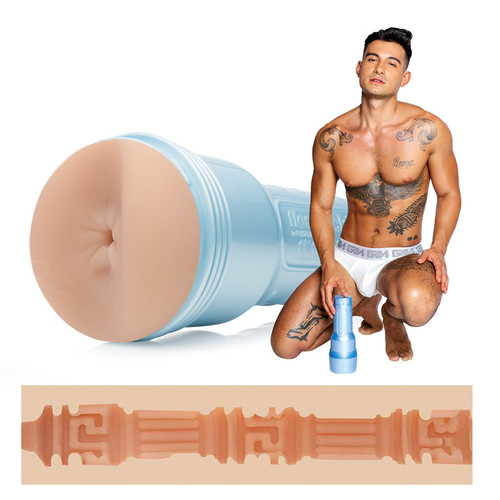 Buy the Ricky Roman's Butt Dolce Sensation Stroker Male Masturbator CockyBoys - FleshLight FleshJack Boys Interactive Life Forms ILF