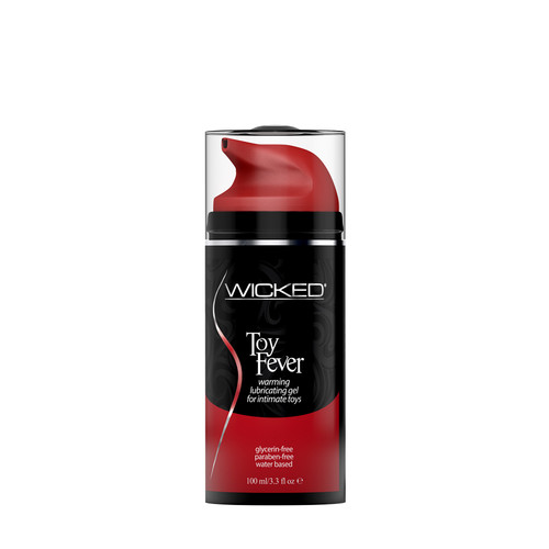 Buy the Toy Fever Water-based Warming Gel Lube for Intimate Toys 3.3 oz - Wicked Sensual Care