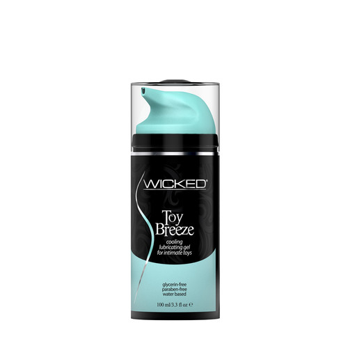 Buy the Toy Breeze Water-based Cooling Gel Lube for Intimate Toys 3.3 oz - Wicked Sensual Care