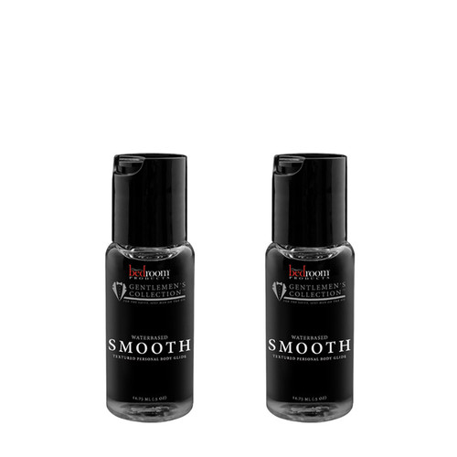 Buy the Gentlemen's Collection Smooth Water-based Personal Lubricant 2 Bottle Set in 1 oz - Bedroom Products LLC