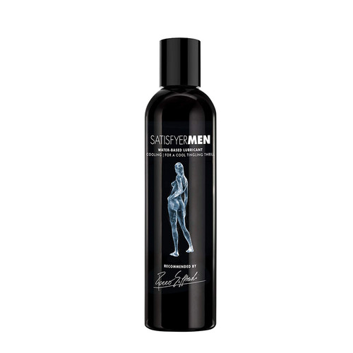 Buy the Satisfyer Men Cooling Water-based Lubricant 16 oz for the Adjustable Male Masturbator