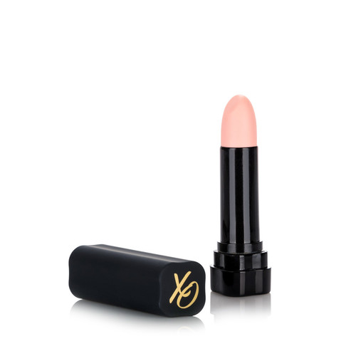 Buy the Hide & Play 8-function Silicone Lipstick Vibe Ivory Nude - Cal Exotics