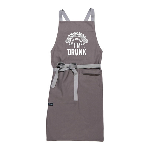 Buy the Twisted Wares Surprise I'm Drunk Apron for kitchen or grilling