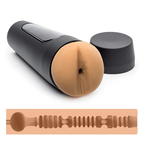 Buy the Man Squeeze Twink Variable Pressure UltraSkyn Realistic Anal Stroker Male Masturbator - Doc Johnson