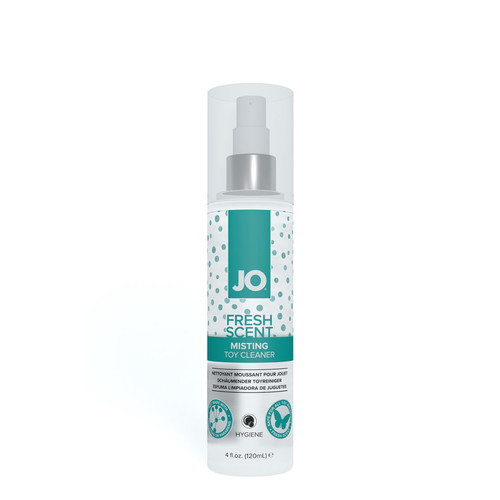 Buy the Fresh Scent Misting Intimate Toy Cleaner 4 oz - System JO Hygiene
