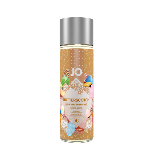 Buy the Candy Shop Butterscotch H2O Flavored Water-based Personal Lubricant 1 oz - System JO