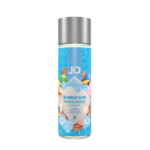 Buy the Candy Shop Bubblegum H2O Flavored Water-based Personal Lubricant 1 oz - System JO