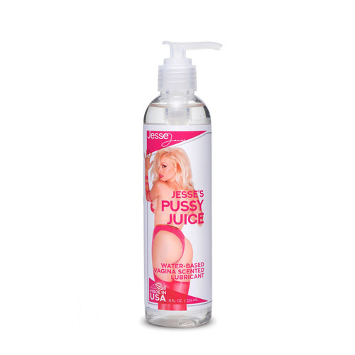 Buy the Jesse Jane's Pussy Juice Vagina Scented Water-based Lube 8 oz - XR Brands