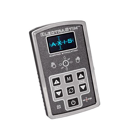 Buy the Axis EM200 Rechargeable Dual Output Electro Stimulation Set Electrosex Estim - Cyrex Limited ElectraStim