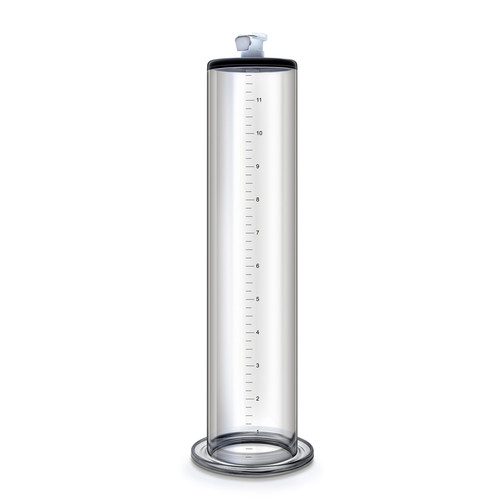 Buy the Performance 12 inch by 2.5 inch Vacuum Penis Pump Cylinder With Quick-Release Fitting - Blush Novelties