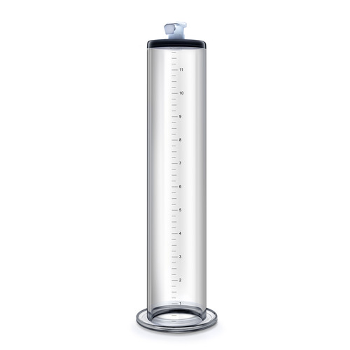 Buy the Performance 12 inch by 2 inch Vacuum Penis Pump Cylinder With Quick-Release Fitting - Blush Novelties