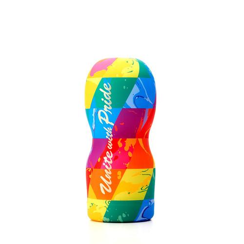 Buy the Rainbow Pride Cup 2019 Stroker Male Masturbator QUILTBAG - Tenga Global