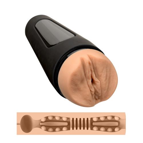 Buy the Main Squeeze Girls of Social Media @Viking.Barbie's Vagina Variable Pressure UltraSkyn Realistic Stroker  Male Masturbator - Doc Johnson
