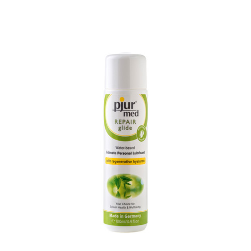 Buy the Med Repair Glide Water-based Personal Lubricant with Hyaluron in 3.4 oz or 100 mL - pjur group made in Germany