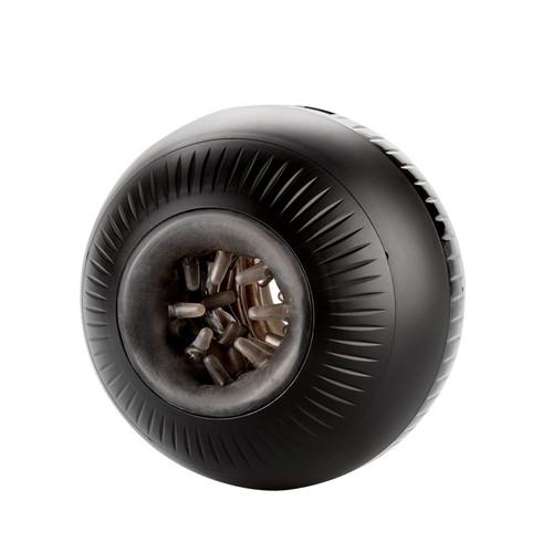 Buy the Optimum Power Masturball 13-function Rechargeable Vibrating & Compressing Dual Chamber Stroker Male Masturbator - CalExotics