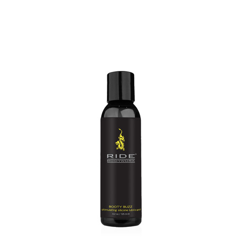 Buy the Ride BodyWorx Booty Buzz Stimulating Cooling Warming Silicone-based Gel Lubricant 4.2 oz - Sliquid