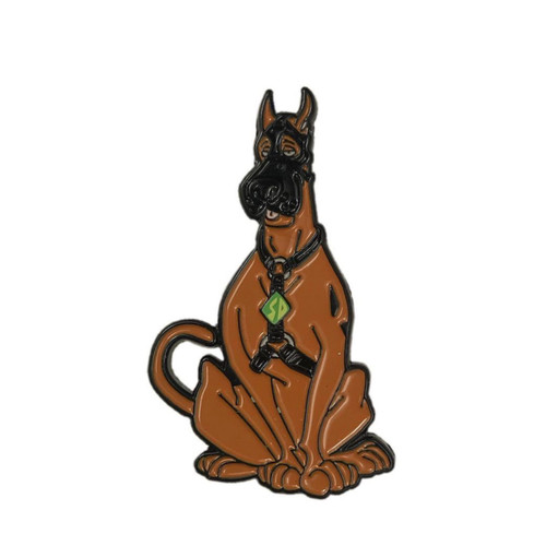 Buy the Bdsm bondage fetish Scoob Scooby-Doo Soft Enamel Lapel Hat Sash Pin - Geeky and Kinky