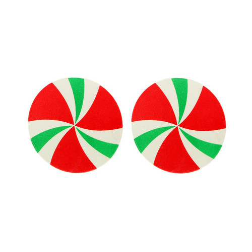 Buy the Edible Spearmint Candy Swirls Body nipple Pasties - Kheper Games