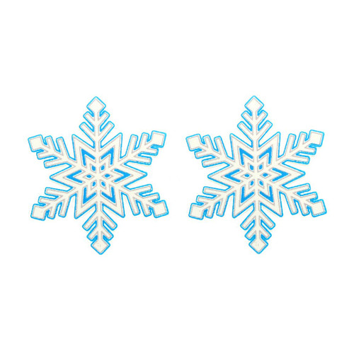 Buy the Edible Wintermint Snowflakes Body nipple Pasties - Kheper Games