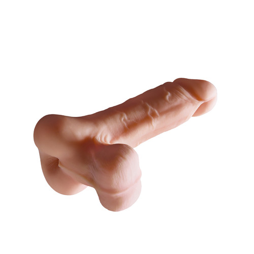 Buy the PDX Male Reach Around 2-in-1 Fanta Flesh Stroker with Realistic Balls Male Masturbator Penis Extension - Pipedream Extreme