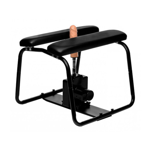 Buy the 4-in-1 Bangin Bench Extreme Sex Stool with Sex Machine - XR Brands LoveBotz