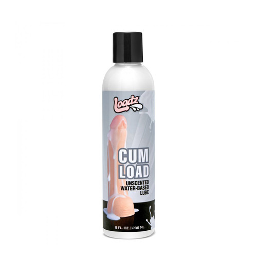 Buy the Loadz Cum Load Unscented Water-Based Semen Lube in 8 oz - XR Brands