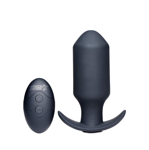 Buy the Thump It Missile Thumping 7-function Remote Control Rechargeable Vibrating Silicone Anal Plug with Kinetic Technology - XR Brands