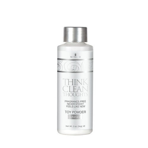 Buy the Think Clean Thoughts Toy Powder for Strokers Masturbator 2 oz - Sensuva