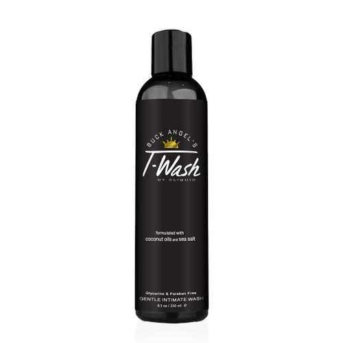 Buy the Buck Angel's T-Collection T-Wash pH Balanced Gentle Intimate Wash in 8.5 oz - Sliquid