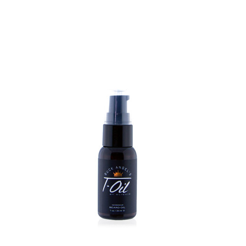 Buy the Buck Angel's T-Collection T-Oil Sandalwood Beard Oil in 1 oz - Sliquid