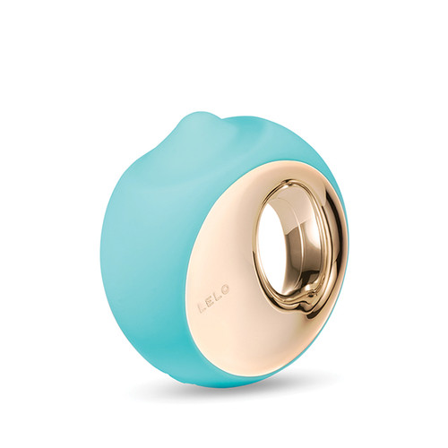 Buy the Ora 3 12-function Rechargeable Silicone Sensual Massager Oral Sex Simulator in Ocean Blue Aqua - LELO