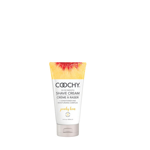 Buy the Coochy So Smooth Peachy Keen Shave Cream in 3.4 oz - Classic Erotica Brands