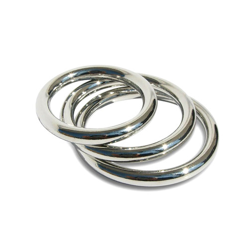 Buy the Seamless Metal O-Ring 3 Pack for O-ring strap-on harness - Sportsheets