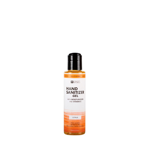 Buy the Concepts Naturals Hand Sanitizer Gel with Moisturizers & Vitamin E Sweet Citrus in 4.2 oz bottle  - Sensuva