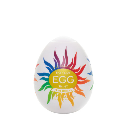Buy the Easy Beat Egg Shiny Pride Edition Stroker Male Masturbator - Tenga Global