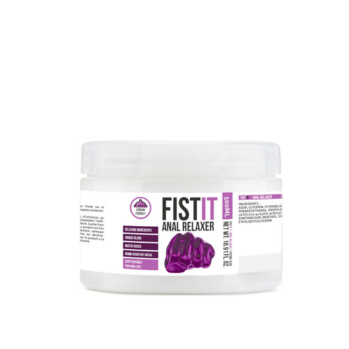 Buy the Professional Anal Relaxer Water-Based Fisting Lubricant 16.9 oz fetish - Shots America Pharmquest Fist it collection