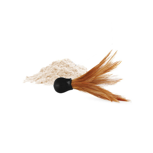 Buy the Honey Dust Body Powder with Feather Applicator in Coconut Pineapple 1 oz Kissable - Kama Sutra