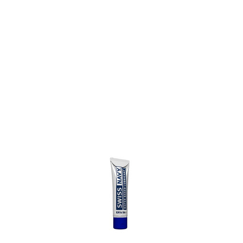 Buy the Swiss Navy Premium Water-Based Lubricant in .34 oz or 10 mL Sample - MD Science Lab