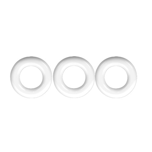 Buy the Willy Rings White Super Stretch 3-Stack C-Rings 3-pack Cockring Set penis erection enhancer - OxBalls