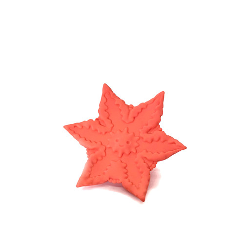 Buy the Starsi 10-function Rechargeable Vibrating Star-shaped Silicone Toy in Orange - Cute Little Fuckers