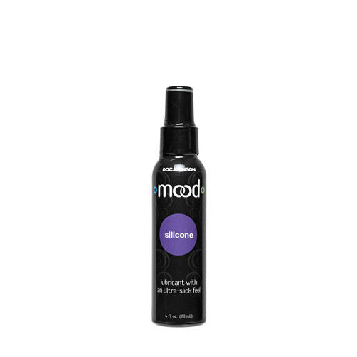 Buy the Mood Lube Silicone-Based Personal Lubricant in 4 oz Pump Bottle - Doc Johnson Made in America