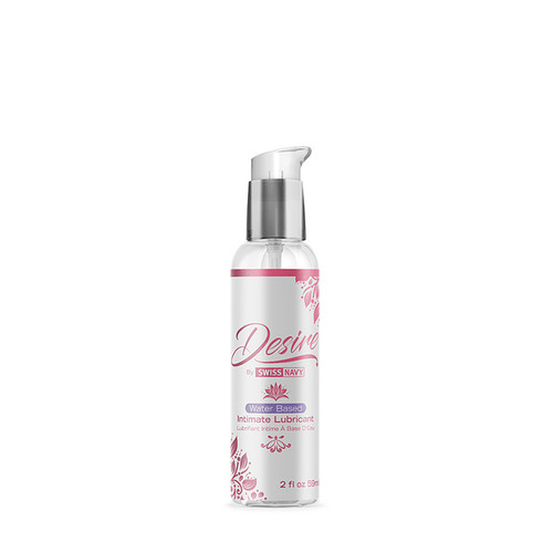 Buy the Swiss Navy Desire Liquid Water-Based Intimate Lubricant in 2 oz by women for women - MD Science Lab