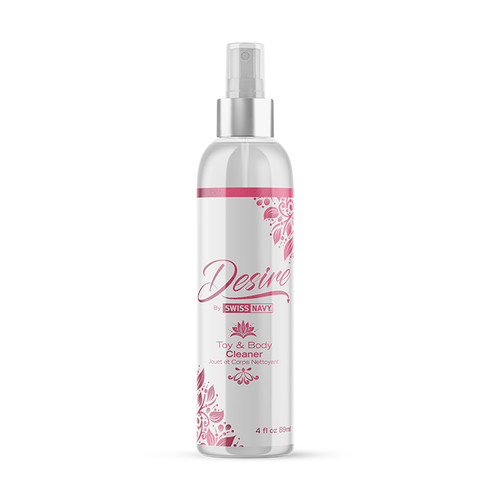 Buy the Swiss Navy Desire Toy & Body Cleaner in 4 oz Spray bottle by women for women - MD Science Lab