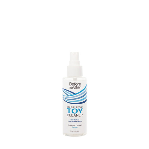 Buy the Before & After Multipurpose Toy Cleaner Purifying Spray in 4 oz Anti-Bacterial - Classic Erotica Brands