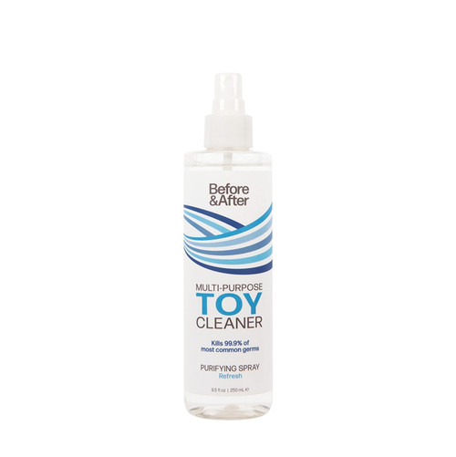 Buy the Before & After Multipurpose Toy Cleaner Purifying Spray in 8.5 oz Anti-Bacterial - Classic Erotica Brands