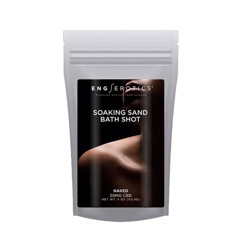 Buy the EngErotics Soaking Sand Bath Shots Naked (CBD 20mg) in 4 oz - EngErotics